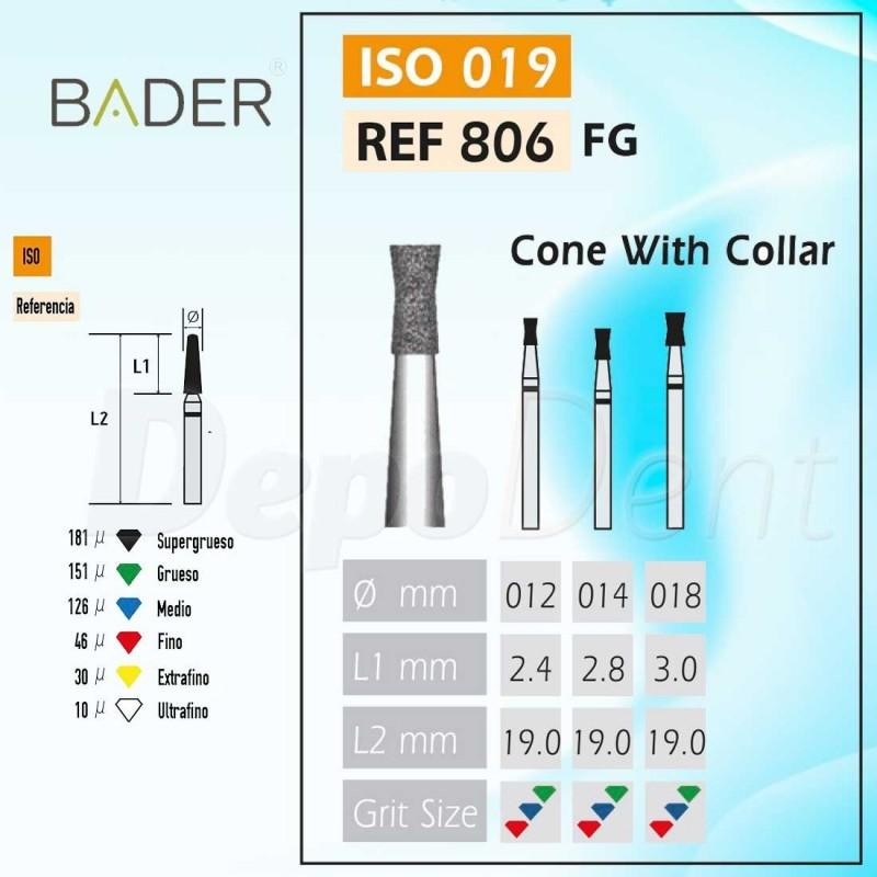 Discos de diamante flexible ISO 806.104.355.514.220