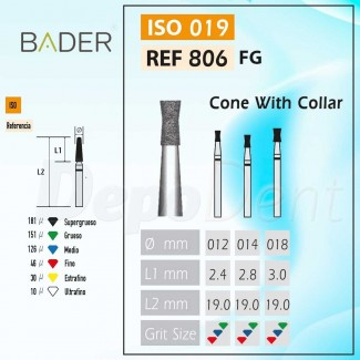 Discos de diamante flexible ISO 806.104.355.514.220