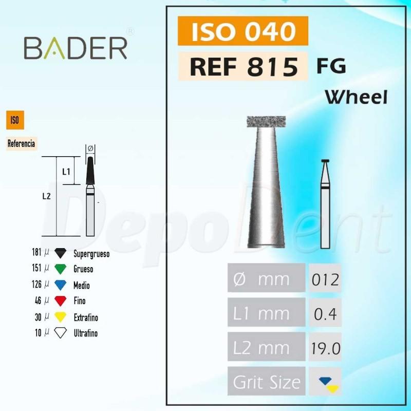 Discos de diamante semiflexible ISO 806