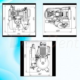 Desinfección de sistemas de aspiración dental