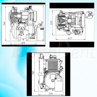 CHARISMA dentina A4 jeringa 4g composite universal híbrido fotopolimerizable