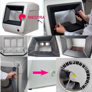Conjunto mobiliario clínica Zilfor con grifo y lavabo 120cm acero inoxidable