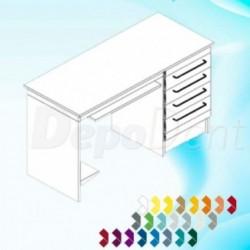 Cubetas desechables de plástico kit completo