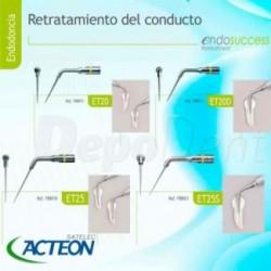 Turbina dental de titanio Technoflux con cabeza a 45º