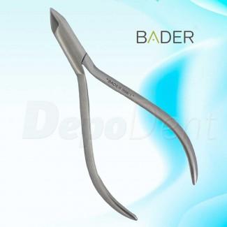 Alicate de ortodoncia de la Rosa sin ranuras marca Bader