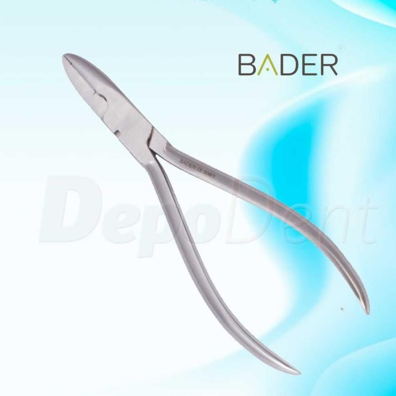 Alicate de ortodoncia de torque con llave marca BADER