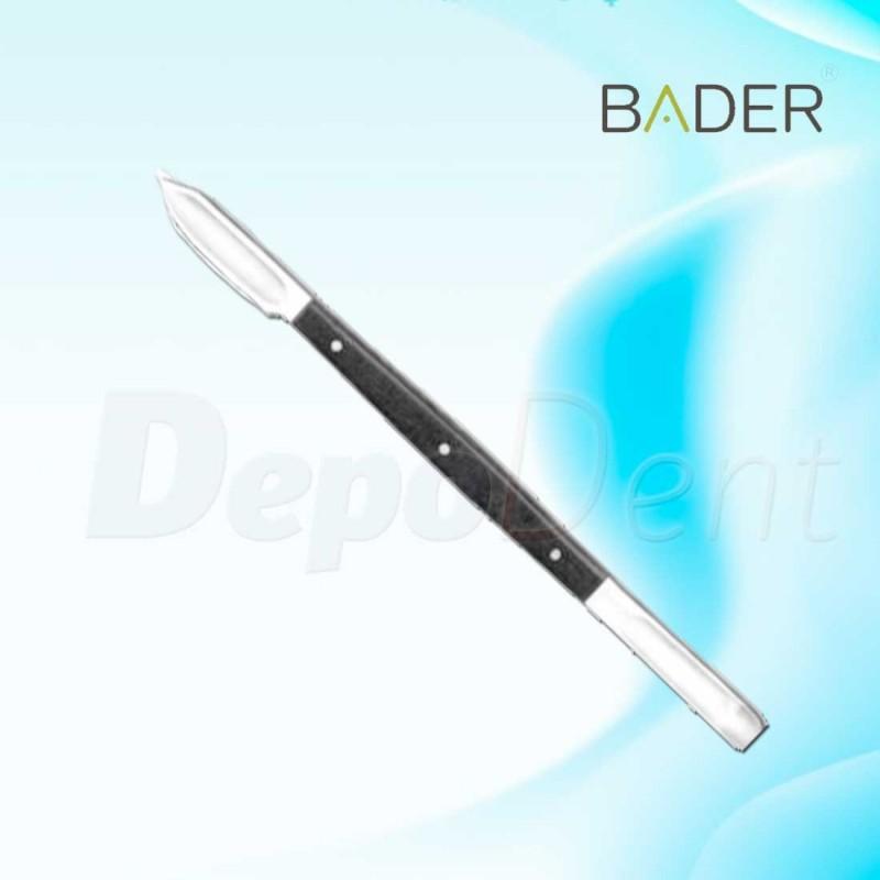 Pinza de ortodoncia para colocar brackets con alineador marca Bader