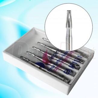 Aspiradores de saliva desechables 15cm color lima