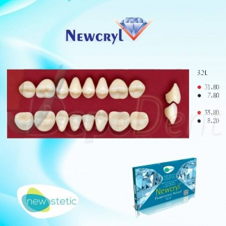 Dientes acrílicos ESTEINVIT 4 capas cromáticas molde N13