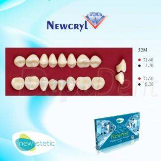 Dientes acrílicos ESTEINVIT 4 capas cromáticas molde N14