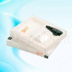 Inyectora de resina en la mufla