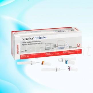 Caja contenedor para ortodoncia monocolor 25ud grandes