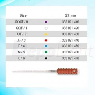 Placas de fósforo Standard Acteon Talla 0 PSPIX-2