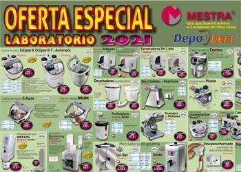 Ofertas equipamiento laboratorio dental