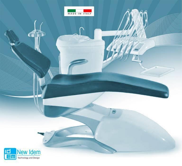 Sillones dentales IDEM fabricados integramente en Italia servicio técnico en España