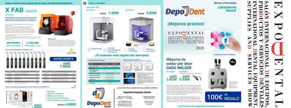 Ofertas laboratorio dental ExpoDental 2020