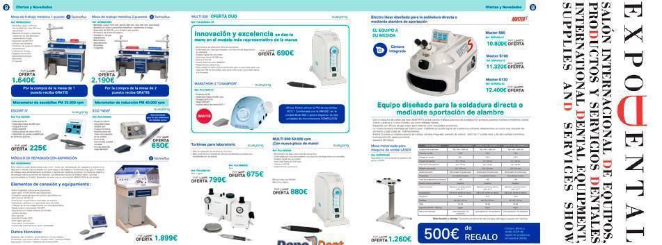 Ofertas laboratorio dental ExpoDental